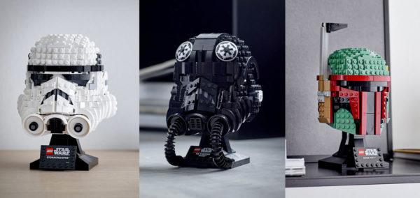 lego starwars new helmets 2020