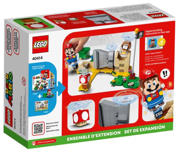 40414 Monty Mole & Super Mushroom Expansion Set