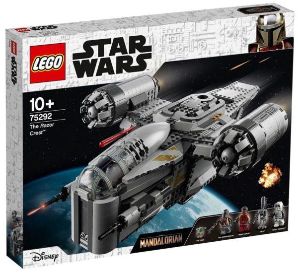 LEGO Star Wars 75292 The Razor Crest : encore des visuels et un lien avec le prochain jeu vidéo LEGO Star Wars