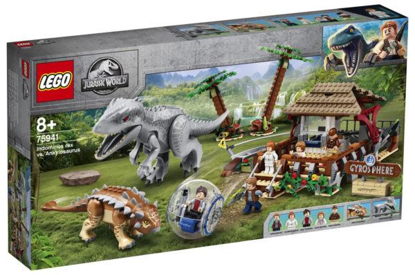 75941 Indominus Rex vs Ankylosaurus