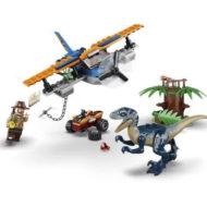 75942 Velociraptor Biplane Rescue Mission