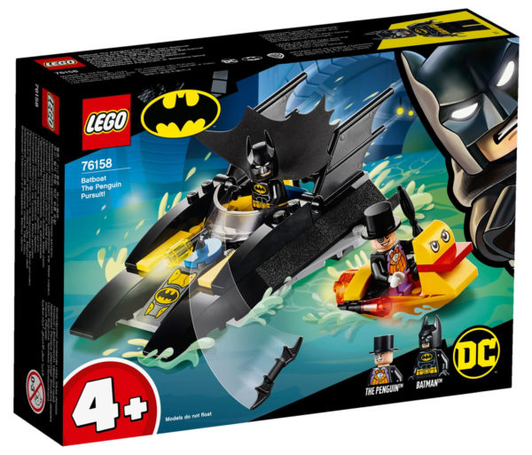 76158 Batboat : The Penguin Pursuit