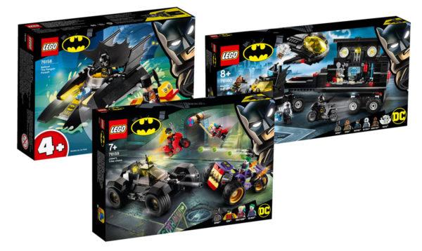 Nouveautés LEGO DC Comics du second semestre 2020