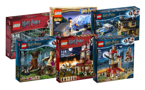 lego harry potter old new sets compare