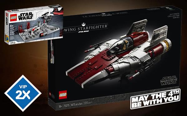 Sur le Shop LEGO : C'est parti pour les offres May the 4th !
