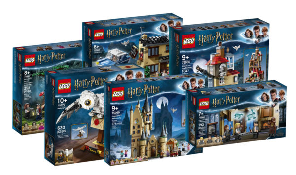 Nouveautés LEGO Harry Potter du second semestre 2020