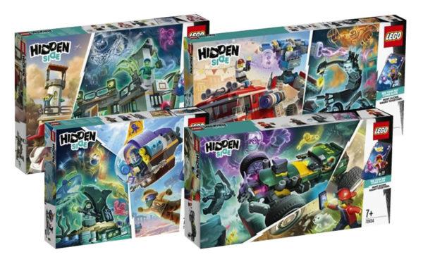 Nouveautés LEGO Hidden Side du second semestre 2020