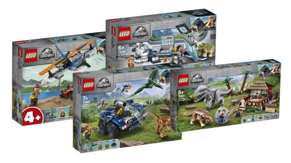Nouveautés LEGO Jurassic World du second semestre 2020