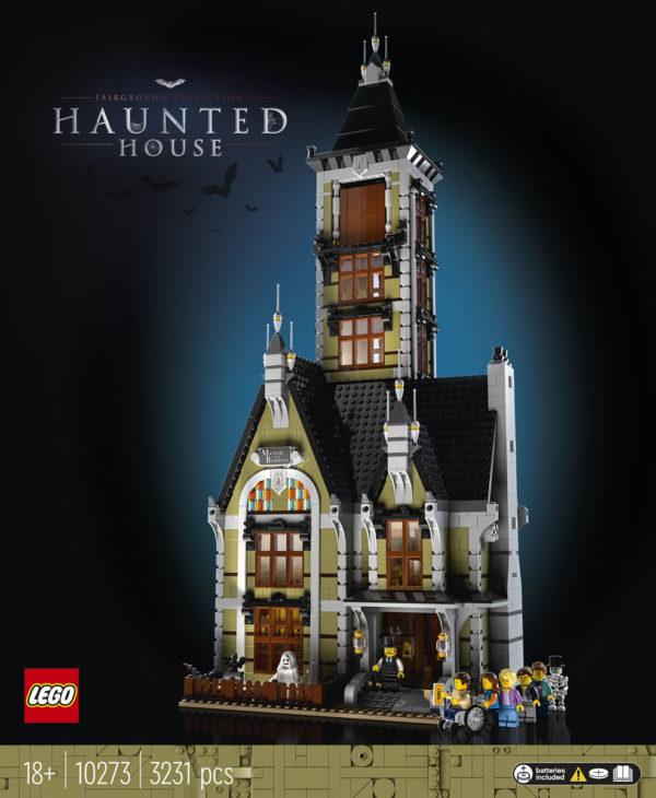 LEGO Fairground Collection 10273 Haunted House : Tout ce qu'il faut savoir
