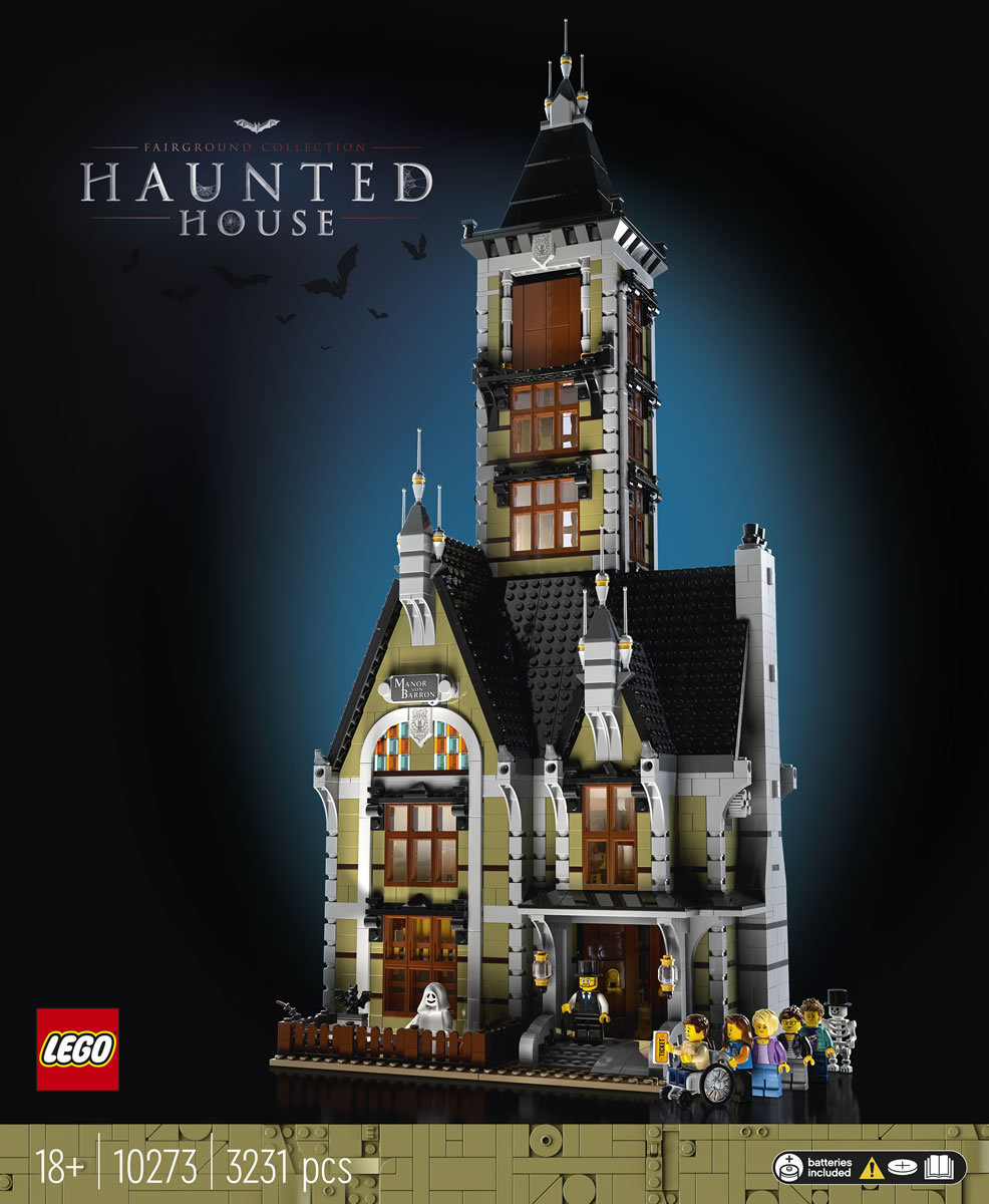 Lego Fairground Collection 10273 Haunted House Tout Ce Qu Il