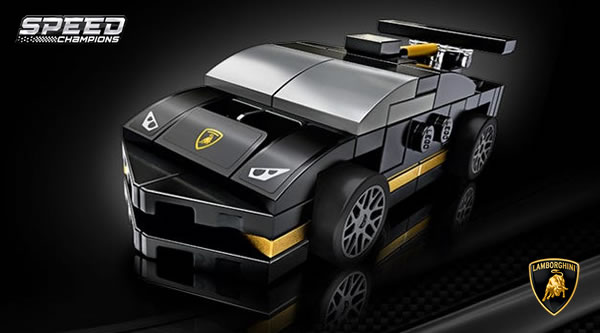 Sur le Shop LEGO : Polybag 30342 Lamborghini Huracán Super Trofeo EVO offert dès 35 € d'achat