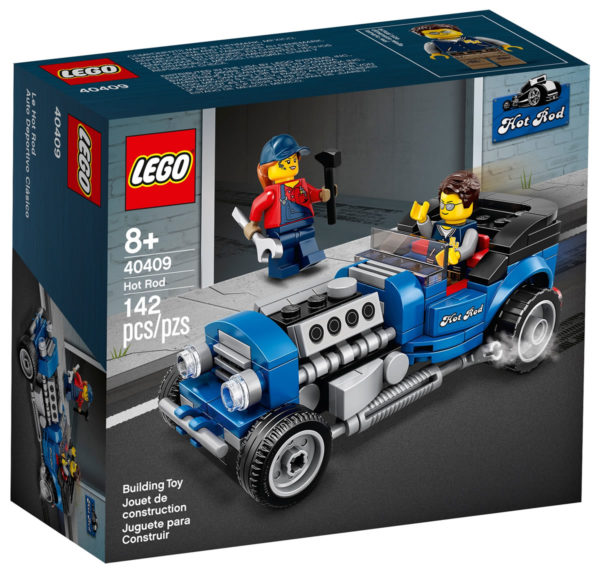 40409 LEGO Hot Rod : les visuels du prochain cadeau offert sur le Shop sont en ligne
