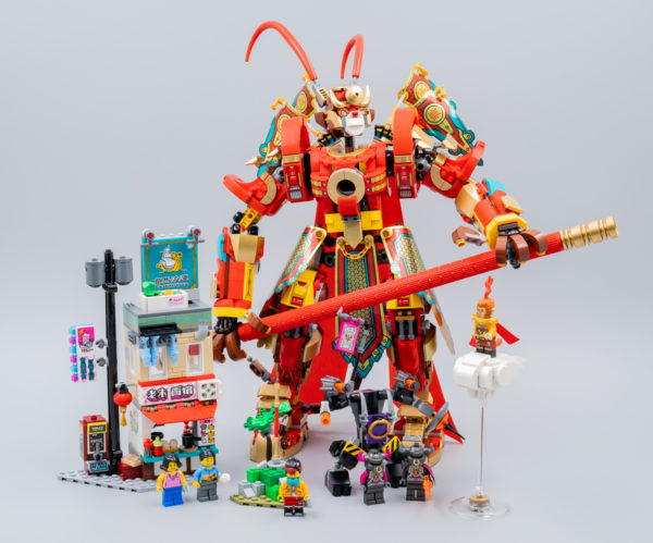 Très vite testé : LEGO Monkie Kid 80012 Monkey King Warrior Mech