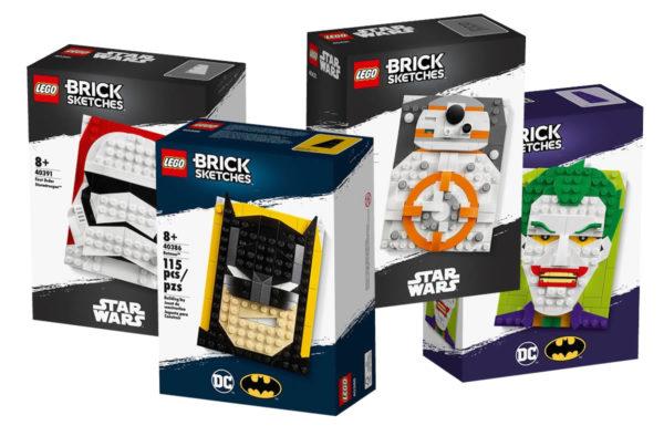 lego brick sketches 2020 batman joker bb 8 stormtrooper