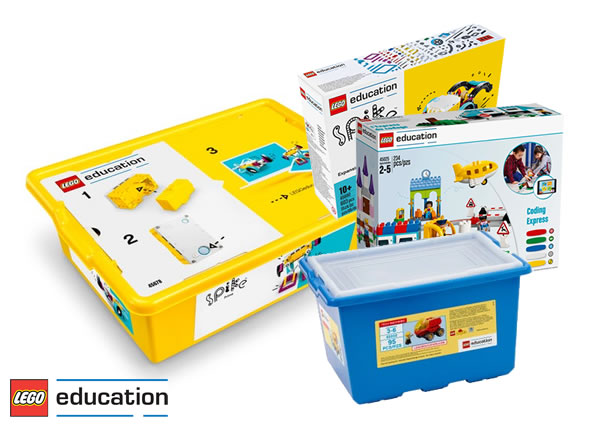 Sur le Shop LEGO : Les produits de la gamme LEGO Education en vente directe sur la boutique officielle