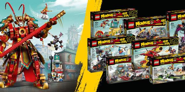 Sur le Shop LEGO : Les nouveautés Monkie Kid sont disponibles