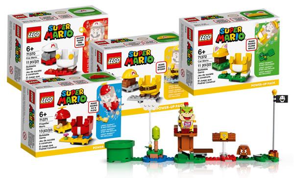 Sur le Shop LEGO : les packs d'extension LEGO Super Mario sont en ligne