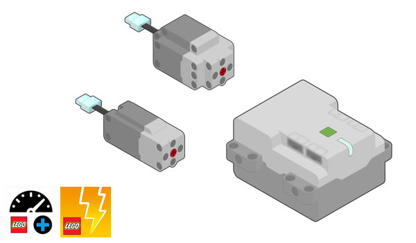 Dès le 1er juin 2020 : Les composants LEGO Technic Powered Up vendus séparément