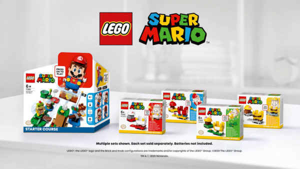 Packs d'extension LEGO Super Mario : Premier aperçu des Power-Up Packs