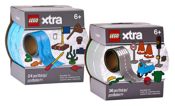 Nouveautés LEGO Xtra 2020 : 854065 Water Tape & 854048 Road Tape