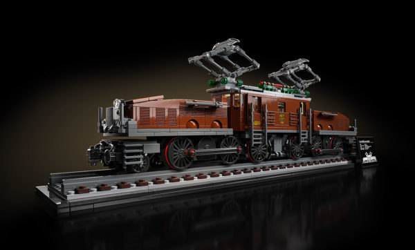 LEGO 10277 Crocodile Locomotive : disponible chez Alzashop et PicWicToys
