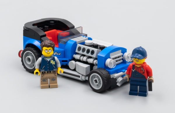 Très vite testé : LEGO 40409 Hot-Rod (GWP)