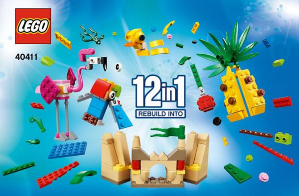 Nouveauté LEGO 2020 : 40411 Creative Fun 12-in-1