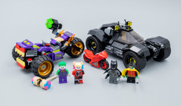 Très vite testé : LEGO DC Comics Batman 76159 Joker's Trike Chase