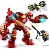 76164 lego marvel iron man hulkbuster versus aim agent 5 1