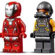 76164 lego marvel iron man hulkbuster versus aim agent 6 1