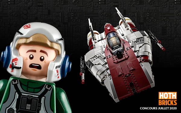 Concours : Un exemplaire du set LEGO Star Wars 75275 A-wing Starfighter à gagner !