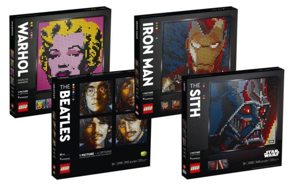 Nouvelle gamme de mosaïques LEGO Art : Tout ce qu'il faut savoir