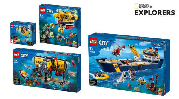 Gammes LEGO CITY et Friends 2020 : plus d'infos sur le partenariat en cours avec National Geographic
