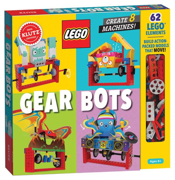 Nouveau livre à paraître : LEGO Gear Bots
