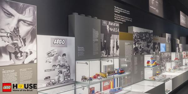 LEGO propose des visites virtuelles du musée de la LEGO House à Billund