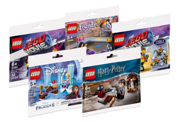 Sur le Shop LEGO : quelques polybags sont disponibles à la vente