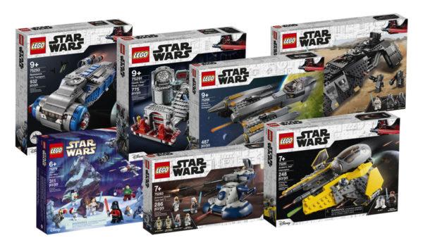 Nouveautés LEGO Star Wars du second semestre 2020 : tous les visuels