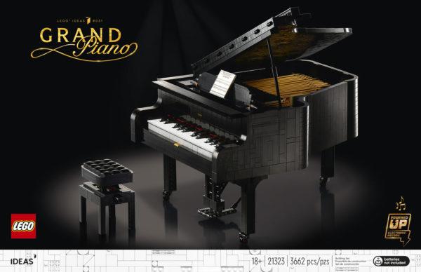 LEGO Ideas 21323 Grand Piano : Tout ce qu'il faut savoir