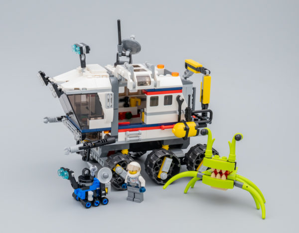 Très vite testé : LEGO Creator 3-in-1 31107 Space Rover Explorer
