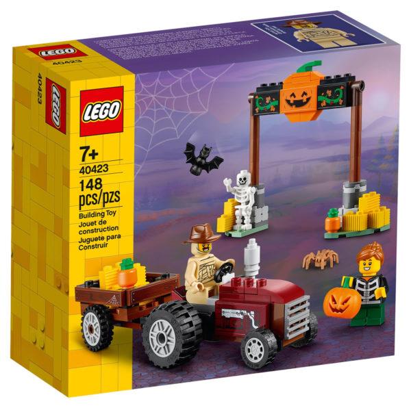 Nouveaux sets saisonniers LEGO 2020 : 40423 Halloween Hayride et 854049 Pumpkin & Bat Duo