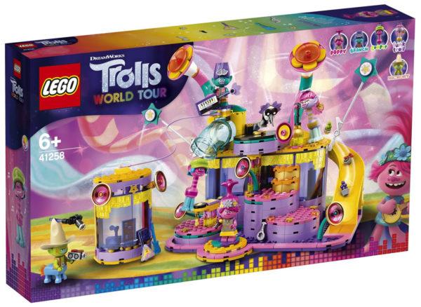 Nouveauté LEGO Trolls World Tour : 41258 Vibe City Concert
