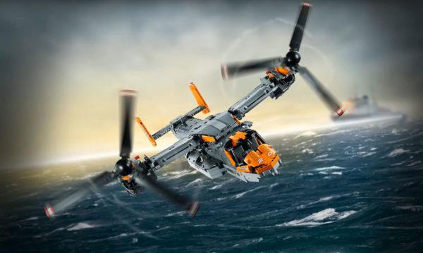 LEGO Technic 42113 Bell Boeing V-22 Osprey : le set a été retiré du Shop