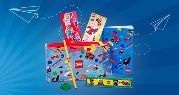 Sur le Shop LEGO : Pack 5005969 Back to School offert dès 65 € d'achat