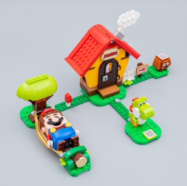 Très vite testé : LEGO Super Mario 71367 Mario's House & Yoshi Expansion Set