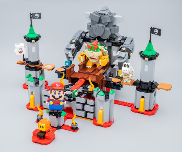 Très vite testé : LEGO Super Mario 71369 Bowser's Castle Boss Battle Expansion Set