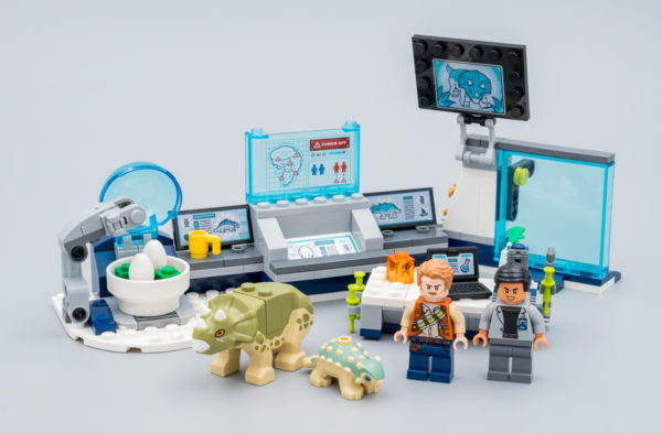 Très vite testé : LEGO Jurassic World 75939 Dr. Wu's Lab Baby Dinosaurs Breakout