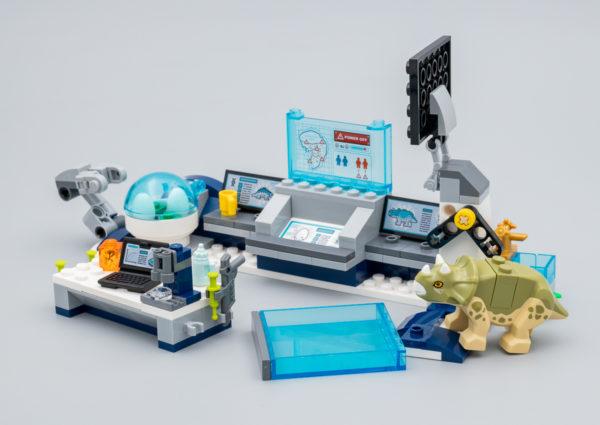 75939 lego jurassic world dr wu lab baby dinosaurs breakout 5