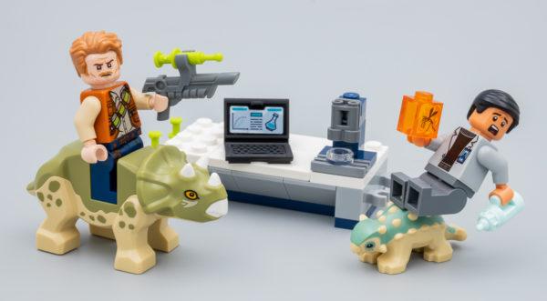 75939 lego jurassic world dr wu lab baby dinosaurs breakout 8
