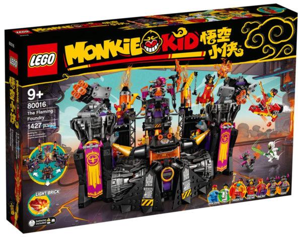 80016 lego monkie kid flaming foundry 1