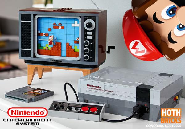 Concours : Un exemplaire du set LEGO 71374 Nintendo Entertainment System à gagner !